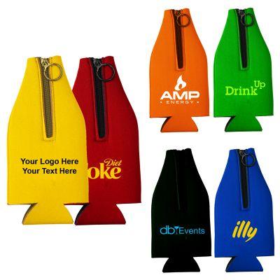 Custom Printed Bottle Coolers - 6 Colors