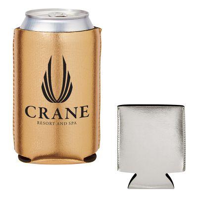 Customized Kan-Tastic Metallic Can Coolers
