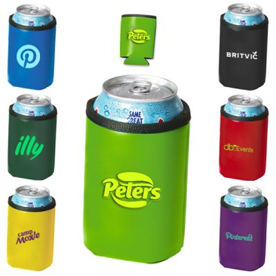 Royale Deluxe Collapsible Can Coolers - 7 Colors