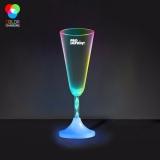 Promotional Champagne LED Spiral Stem Glasses