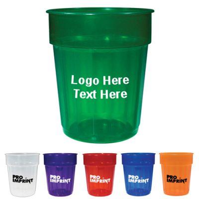 Custom Imprinted 16 Oz Fluted Jewel Stadium Cups