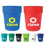 Custom Imprinted 16 Oz Fluted Stadium Cups