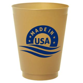 Custom Printed 16 Oz Frost Flex Stadium Cups