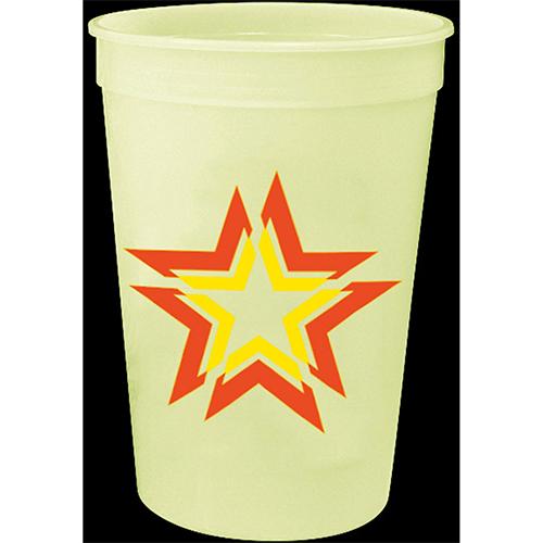 16 Oz Glow In The Dark Stadium Cups