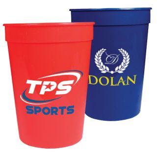 Promotional Logo 12 Oz Stadium Cups