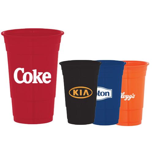 custom imprinted 22 oz game day stadium cups