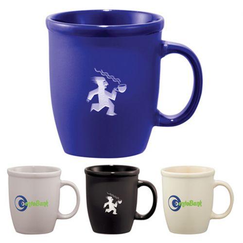 Custom Logo Imprinted 12oz Ceramic Mug