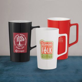 Custom Printed 20 Oz Venti Ceramic Mugs
