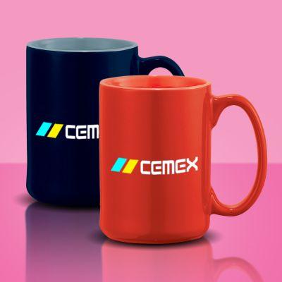 Promotional 14 Oz Jumbo Ceramic Mugs
