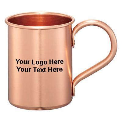 14 Oz Promotional Logo Moscow Mule Mug Gift Set