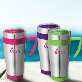 Custom Printed 15 Oz Seaside Travel Mugs