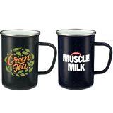 Customized 22 Oz Speckled Enamel Metal Mugs