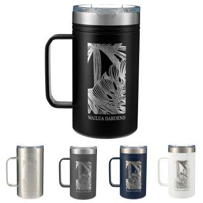 Customized 24 Oz Arctic Zone® Titan Thermal HP® Copper Mugs