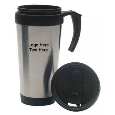 Promotional 16 oz Stainless Travel Mugs