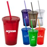 Personalized 16 Oz Economical Insulated Tumblers
