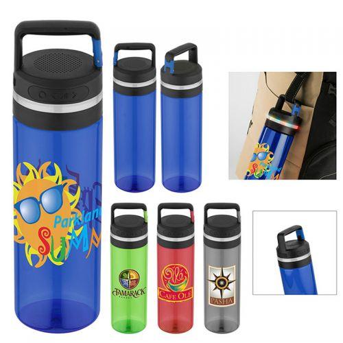 Printed Wireless Speaker Water Bottles