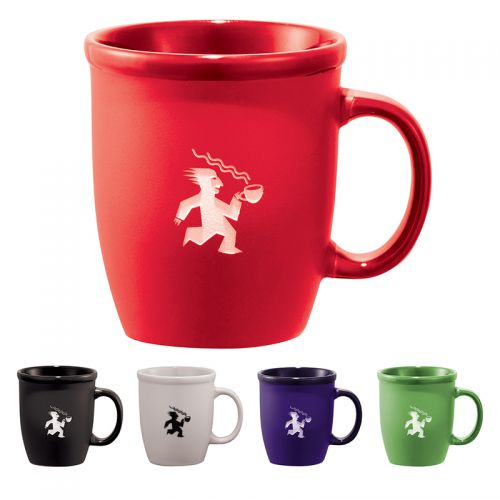 12 Oz Cafe Au Lait Ceramic Mugs
