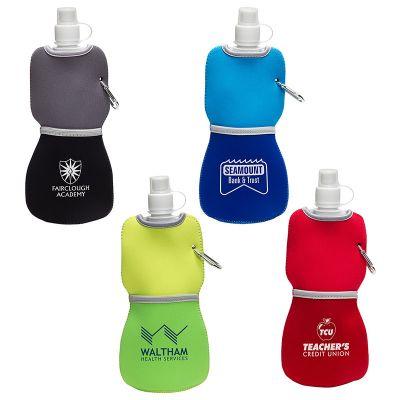 Custom Flex Water Bottles with Neoprene Insulator