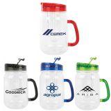 32 Oz Logo Imprinted Mason Jar Infuser Mugs