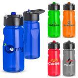 19 Oz Custom Notched Tritan™ Water Bottle with Loop