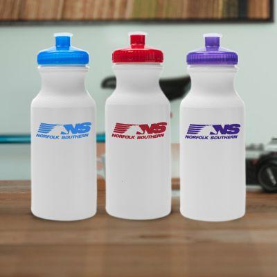 Promotional Logo 20 Oz Water Bottles