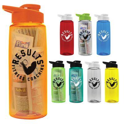 26 Oz Customized Long Trail Tritan Survivor Bottles