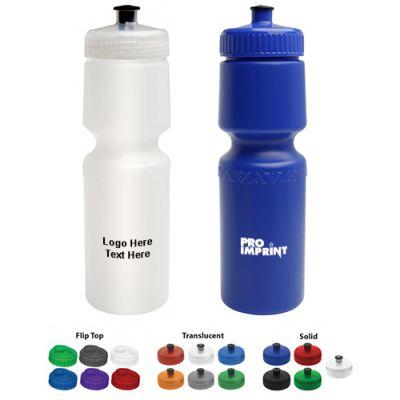 Promotional Logo 26 Oz American Value Water Bottles