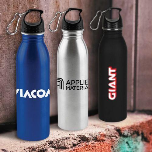 24 Oz Promotional Solairus Water Bottle - 4 Colors