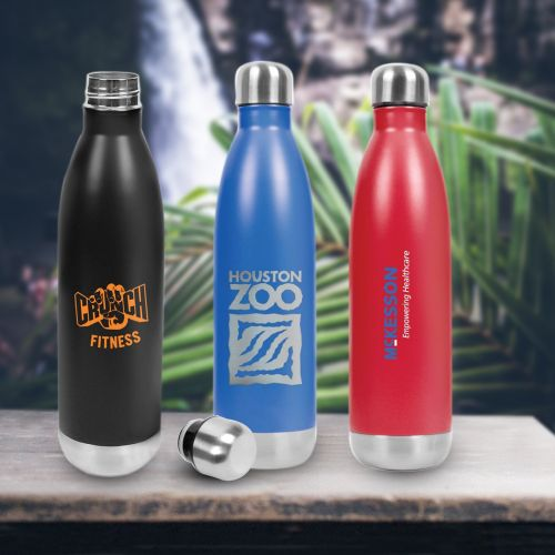 31bb5ca72e70 25 Oz Promotional Hydro-Soul Insulated Stainless Steel Water Bottle