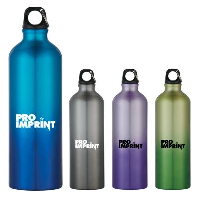 Printed 25 Oz Gradient Aluminum Bike Bottles