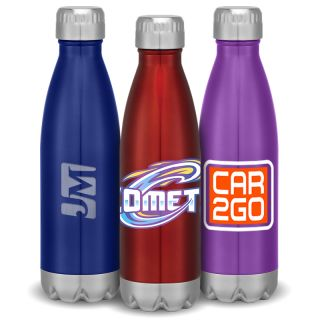 Custom 16 Oz Stainless Steel Vacuum Bottles