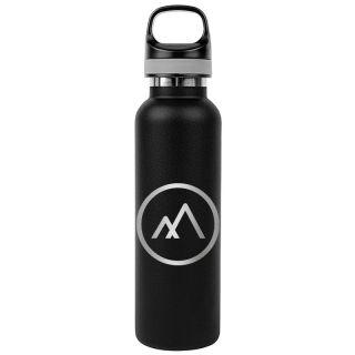 Custom 20 Oz AquaSoul™ Flask-Style Vacuum Insulated Water Bottles