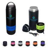 Promotional 13 Oz Bluetooth Speaker Vacuum Water...