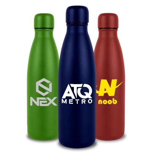 17 Oz Powder Coated Hydro-Soul Water Bottles