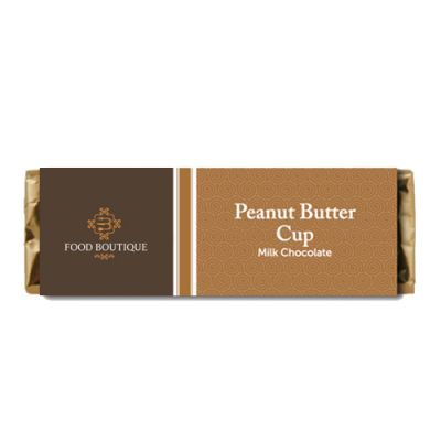 2.15 Oz Custom Milk Chocolate Peanut Butter Candy Bars