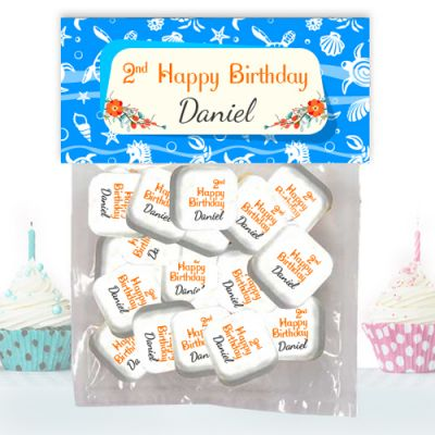 Large Candy Bags Custom Printed Mints with Imprinted Header Card