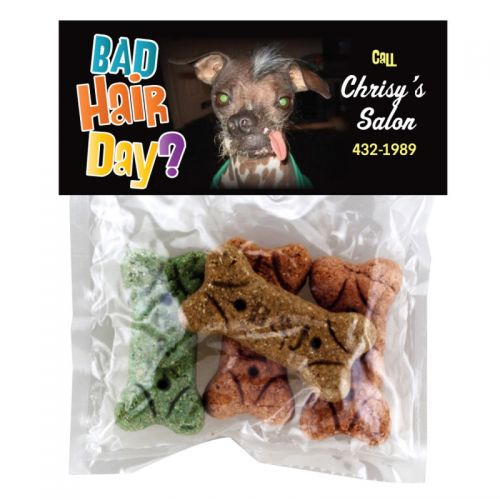 Custom Imprinted Doggie Bags with Dog Bones