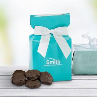 Custom Chocolate Turtles in an Ovation Box
