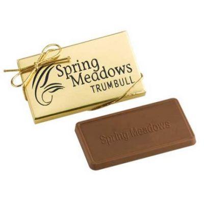 Custom Imprinted 1 Oz Venetian Chocolate Gift Box