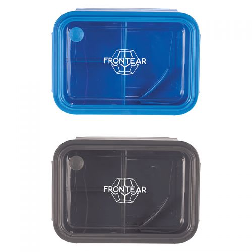 Three Compartment Food Storage Bento Boxes