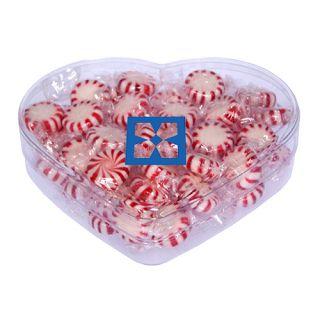 Promotional Heart Acrylic Show Piece Starlite Mints