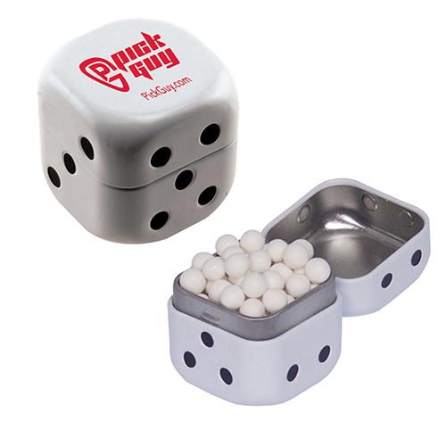 Dice Signature Peppermint Tins