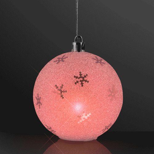 Sparkle Snowflake Ornaments