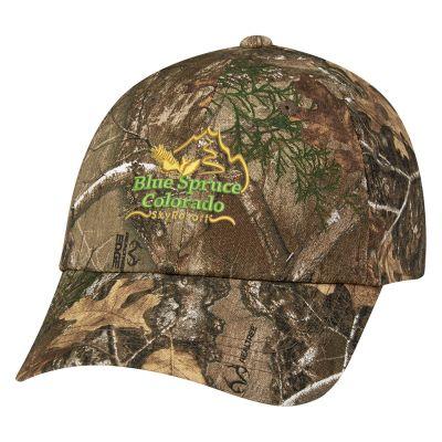 Custom Realtree® and Mossy Oak® Hunter's Hideaway Camouflage Caps