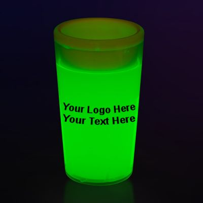 2 Oz Glow Shot Glasses