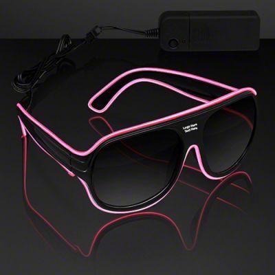 Custom Imprinted Neon Look Navigator EL Shades
