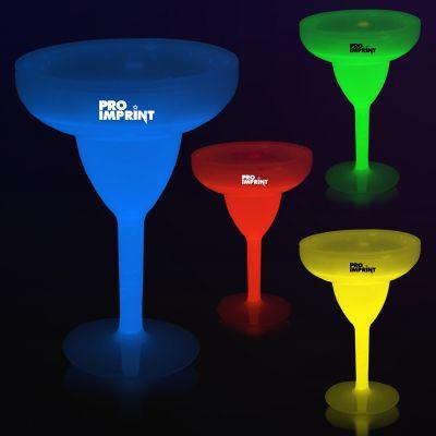10 Oz Glow Margarita Glasses