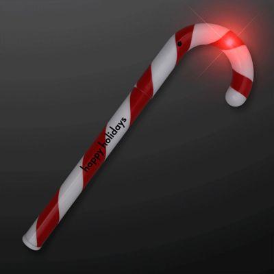 Custom Printed Candy Cane Light Wands