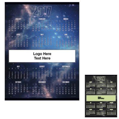 Custom Printed Glow In The Dark Span-A-Year Calendar