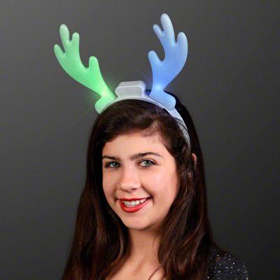 LED Reindeer Antler Headbands